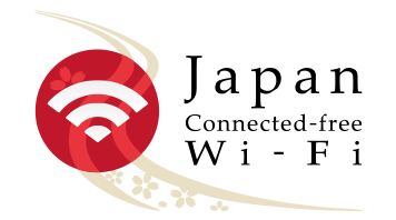 Japan Connected-free Wi-Fi Logo